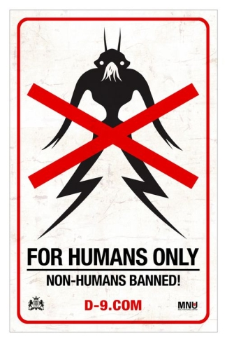Image result for no aliens district 9